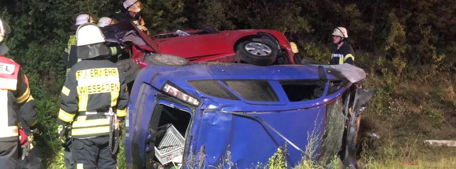 Person bei Unfall auf A671 tödlich verletzt