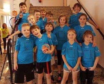 Handball-Spieltreff der Grundschulen im Kreis Gütersloh