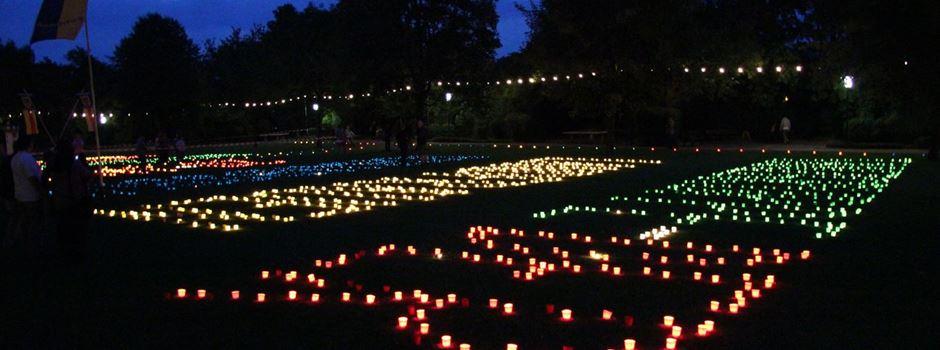Traditionelles Niersteiner Parklichterfest findet dieses Jahr im Videoformat statt