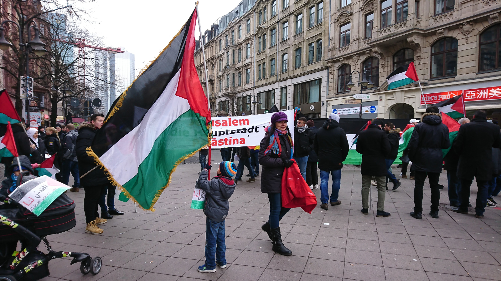 Indonesier demonstrieren gegen Jerusalem-Entscheidung