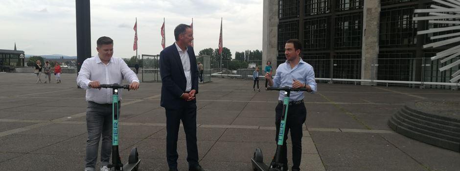Ab sofort: E-Scooter-Verleih startet in Mainz