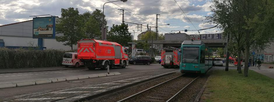 Einschränkungen nach Straßenbahn-Unfall
