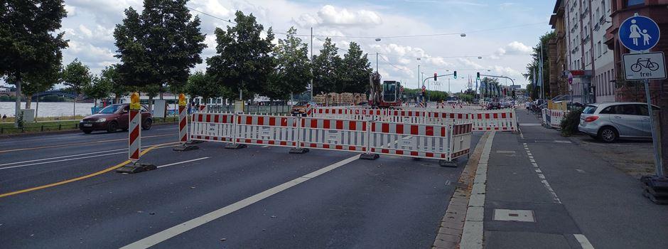 Sperrungen in der Großen Bleiche und der Peter-Altmeier-Allee