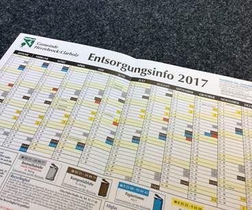 Abfallkalender 2017