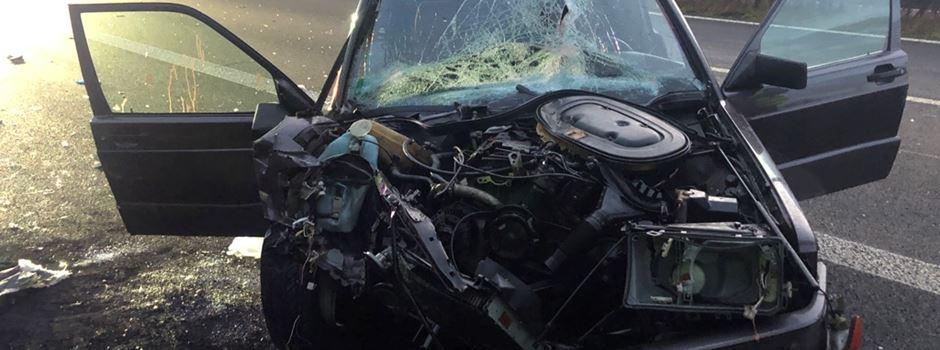Schwerer Unfall auf der A63