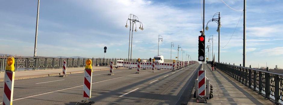 Sperrung der Theodor-Heuss-Brücke trifft 90 Prozent der Betriebe der Region