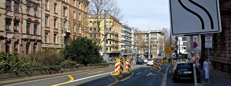 Parcusstraße ab Montag teilweise gesperrt