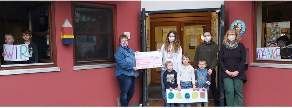 Bürgerverein für Lülsdorf und Ranzel spendet Geld an Kitas