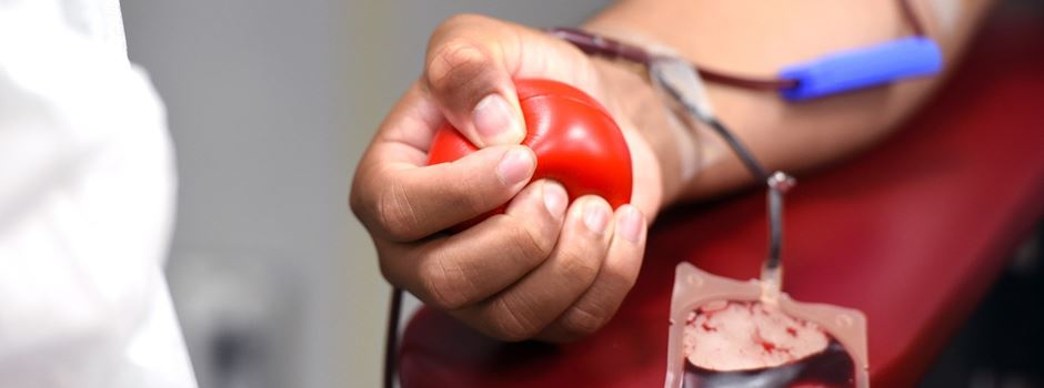 Blutspendetermin in der Schützenhalle