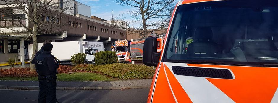 Feuerwehreinsatz bei den HSK