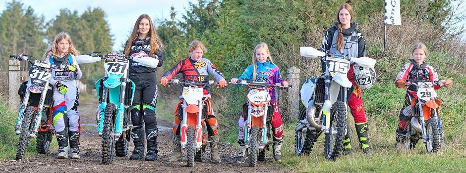 Auch Mädchen und junge Frauen geben im MSC Munster ordentlich Gas