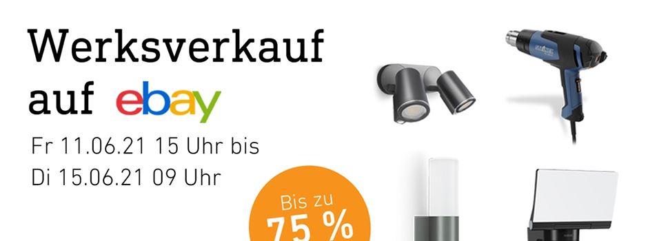 Anzeige: Steinel-Werksverkauf auf ebay