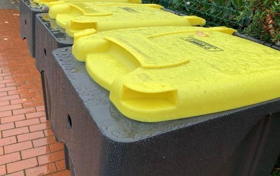 Probleme mit der Abholung der gelben Tonnen: Abholung wird nachgeholt