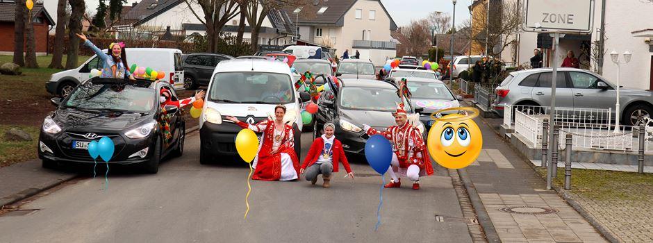D'r Zoch kütt! - Kleiner karnevalistischer Umzug durch Ranzel