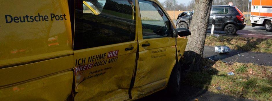 Fünf Verletzte bei Verkehrsunfall an der Gütersloher Straße