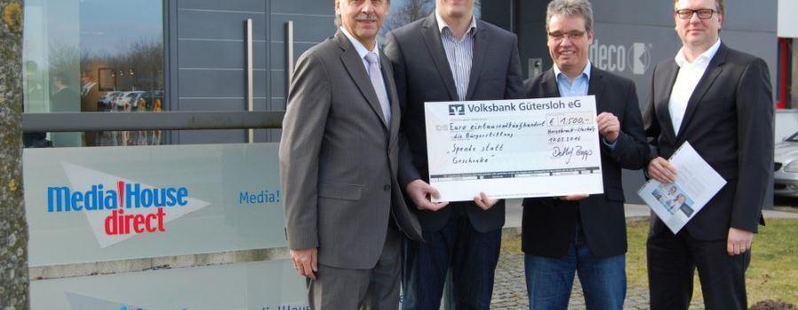 1.500 EUR Spende für Schulprojekt
