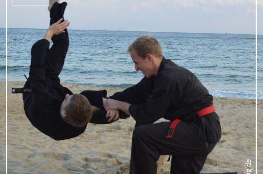 Hapkido-Training wieder regulär in der Brandenburg-Halle