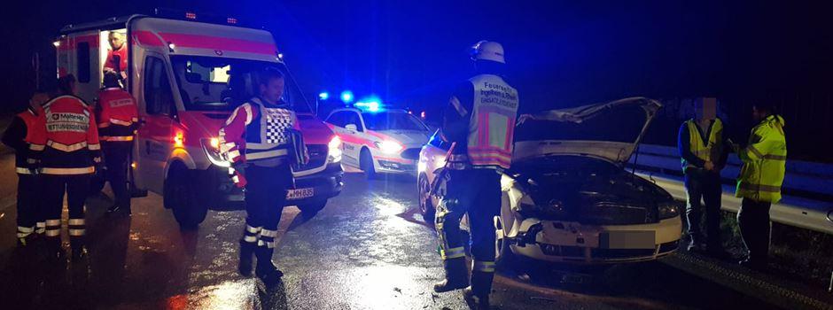 Mehrere Verletzte bei Unfall auf der A60