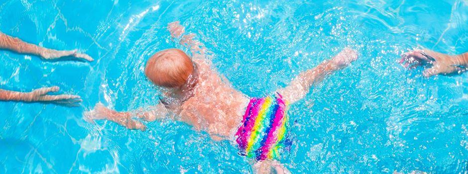Schwimmbäder halten Windeln bereit