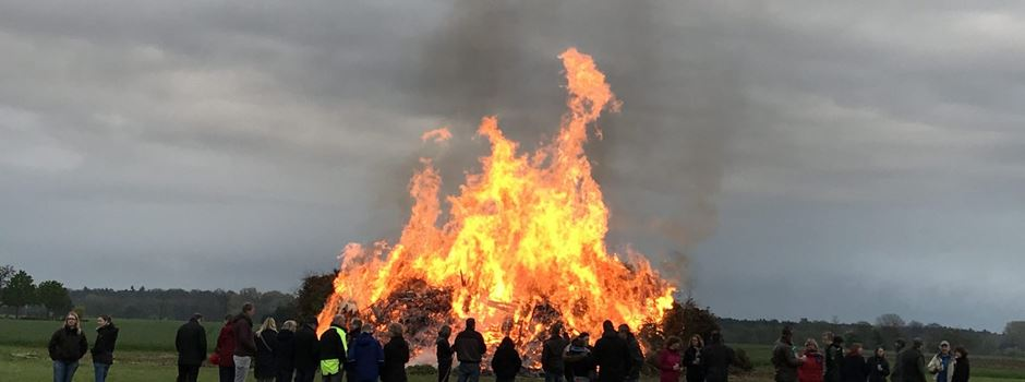 Osterfeuer bei der Gemeinde anmelden