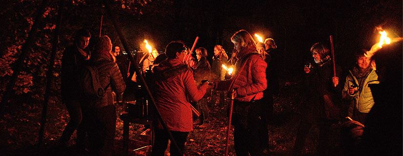 Herrgottsgarten: Glühwein-Fackelwanderung in Nierstein zu Beginn der Adventszeit am 01.12.2019