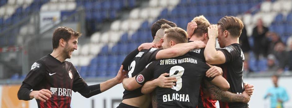 Wehen Wiesbaden spielt in der Relegation zur 2. Bundesliga