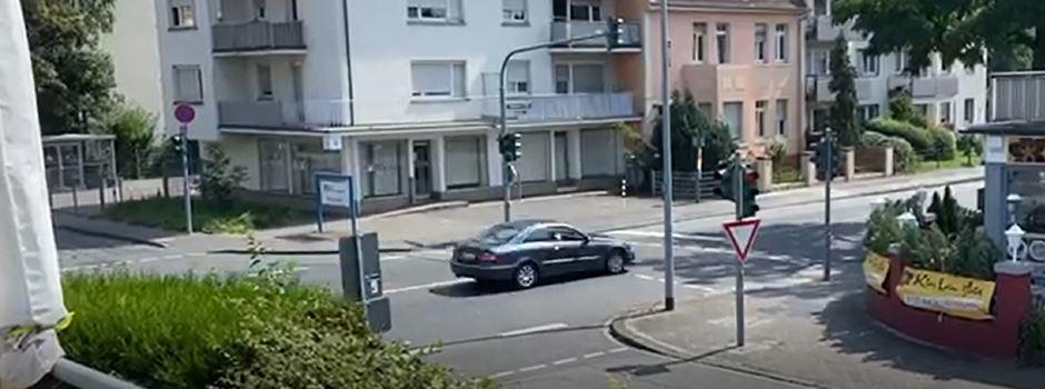 Fußgänger retten sich mit Sprüngen: Verfolgungsjagd in Kastel und Kostheim