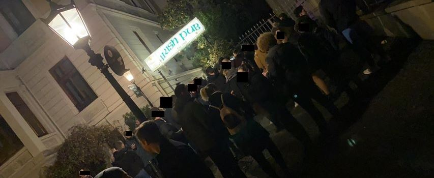 Irish Pub muss evakuiert werden