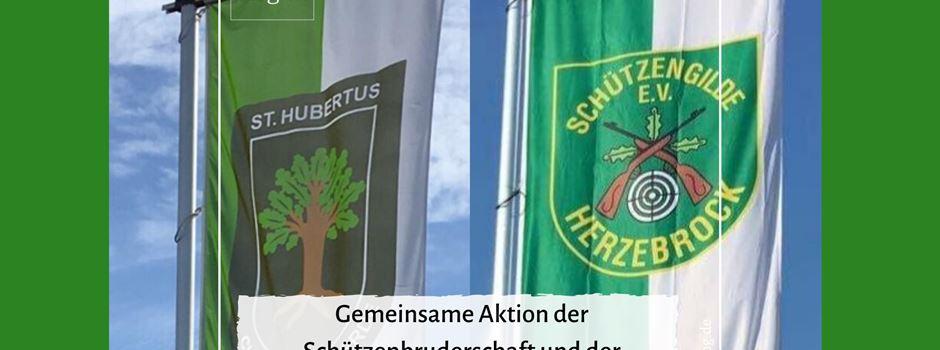 Flagge zeigen zum Osterfest