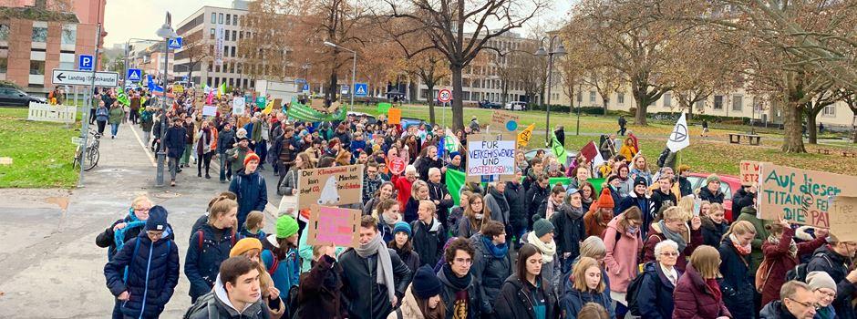 Klima-Demo in Mainz abgesagt