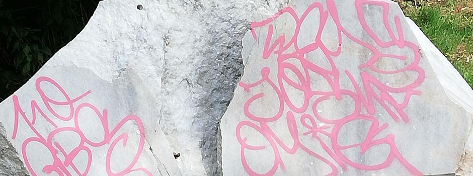 Ärger über Graffiti-Schmierereien in Mainz