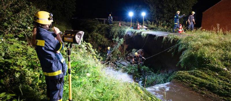 """Ebling über Flutkatastrophe: """"Unfassbare Bilder"""""""
