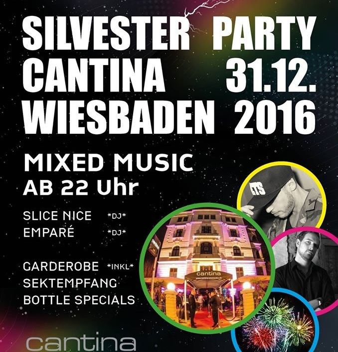 Silvester Party Im Cantina