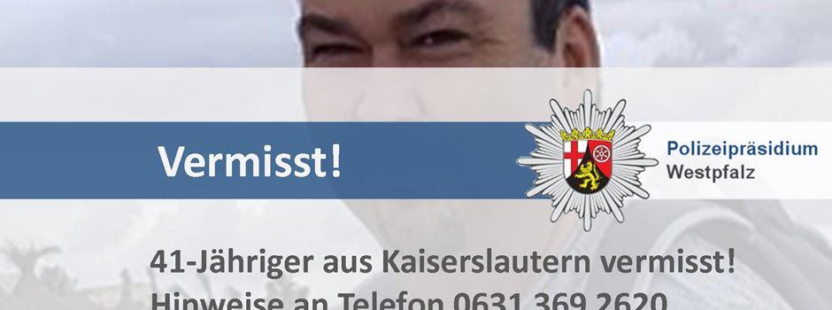 41-Jähriger aus Kaiserslautern wohlauf