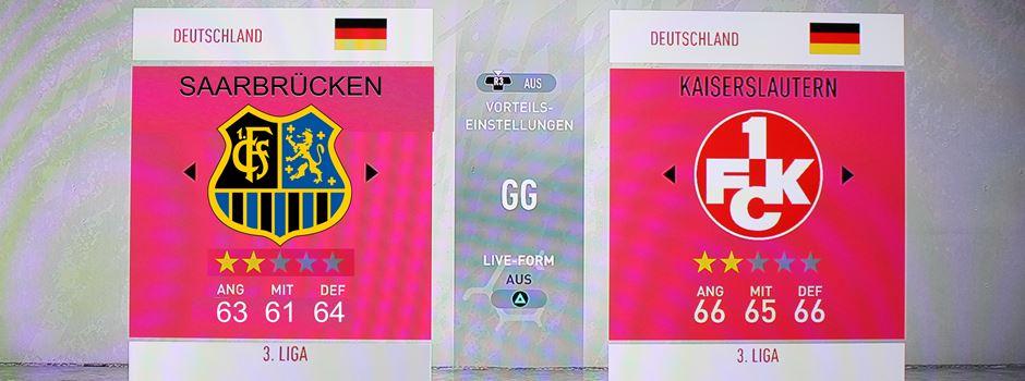 Lieblingsverein auf der Konsole! Zocken die Fans demnächst mit dem 1.FC Saarbrücken?