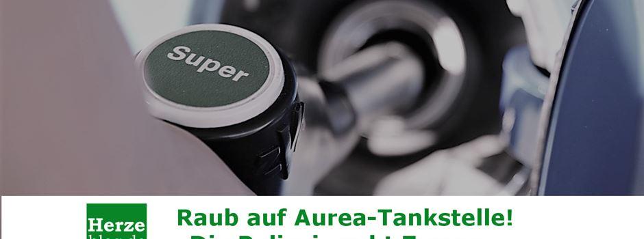 Raub auf Aurea-Tankstelle