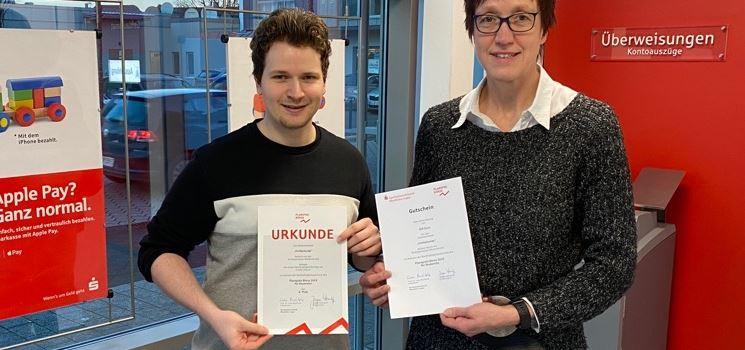 Anzeige: Sven Füchtenkort erfolgreich bei Planspiel Börse
