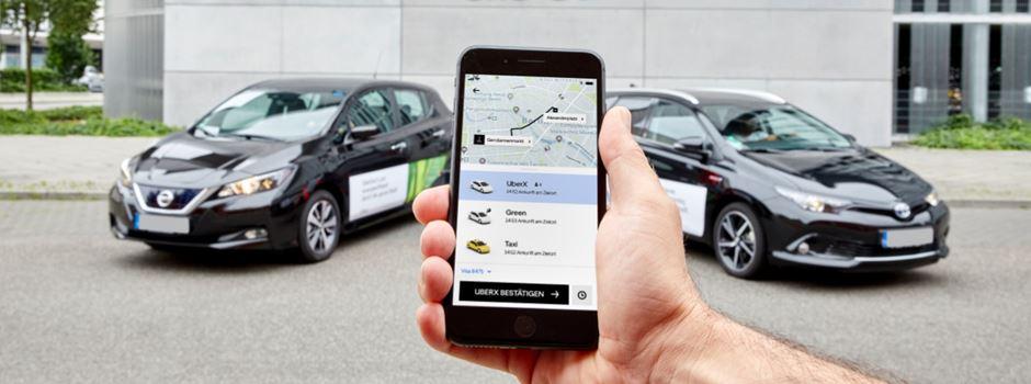 Uber startet in Mainz und Wiesbaden