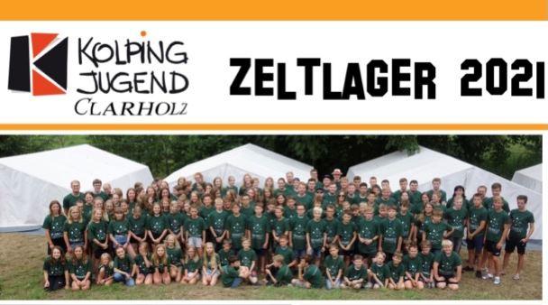 Voranmeldung für das Clarholzer Zeltlager 2021