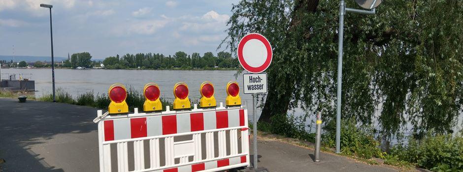 Gibt es Hochwasser in Mainz?