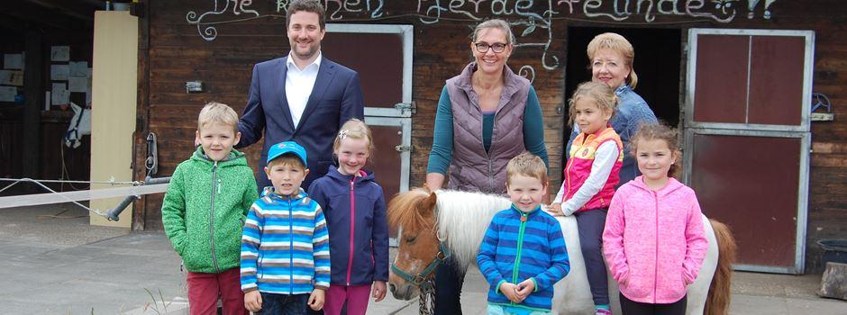 Ferienspiele mit den Kleinen Pferdefreunden