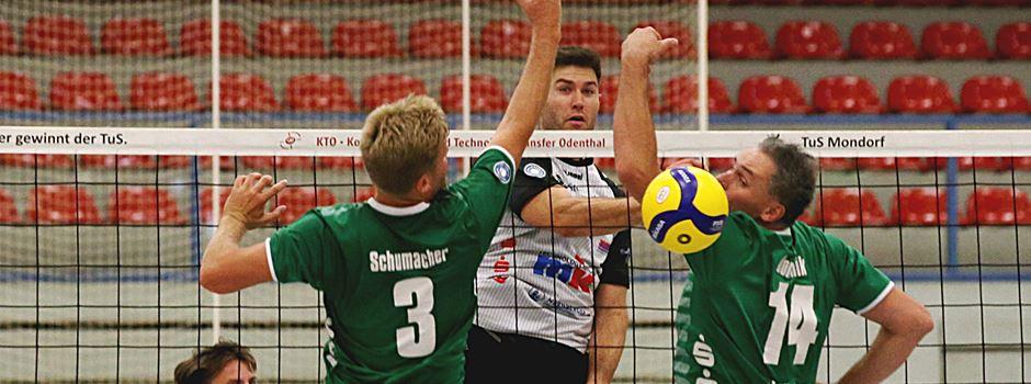 Volleyball: TuS Mondorf schlägt FC Schüttorf 3:1