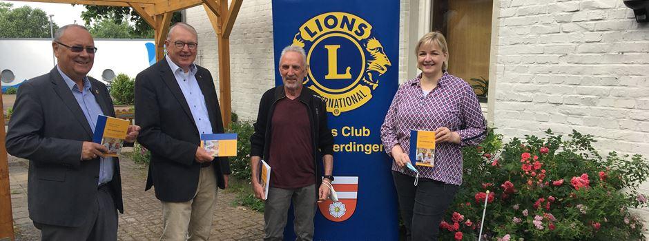 """Löwen"" unterstützen Internet-Projekt"