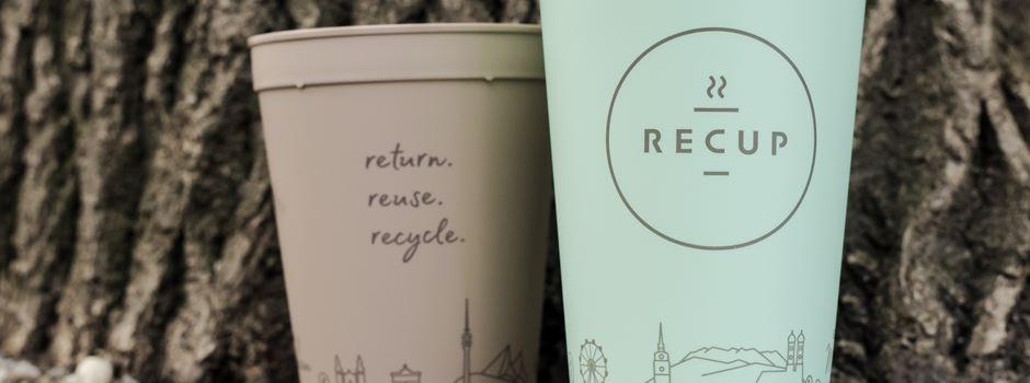 Kaffee im Mehrwegbecher: RECUP kommt nach Augsburg