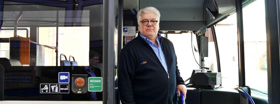 Ein Wiesbadener Busfahrer erzählt von seiner Erfahrung mit Gewalt