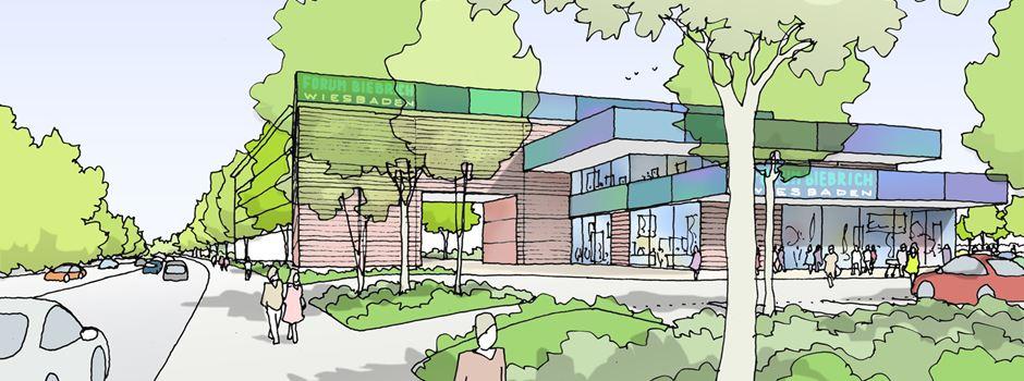 Adler-Center in der Äppelallee wird grundlegend umgestaltet