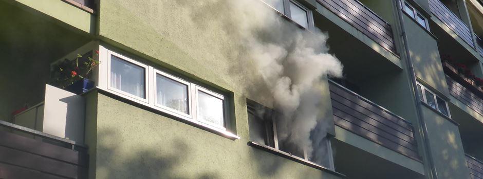 Feuer in Wohnung in der Neustadt ausgebrochen