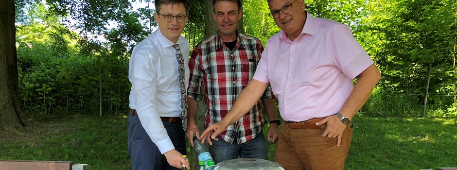 Pfandringe - Stadt Niederkassel nimmt den ersten Eigenbau in Betrieb