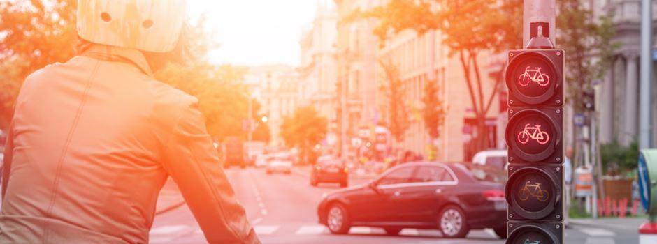 Fahrradklimatest steht an: Gibt Wiesbaden die rote Laterne ab?