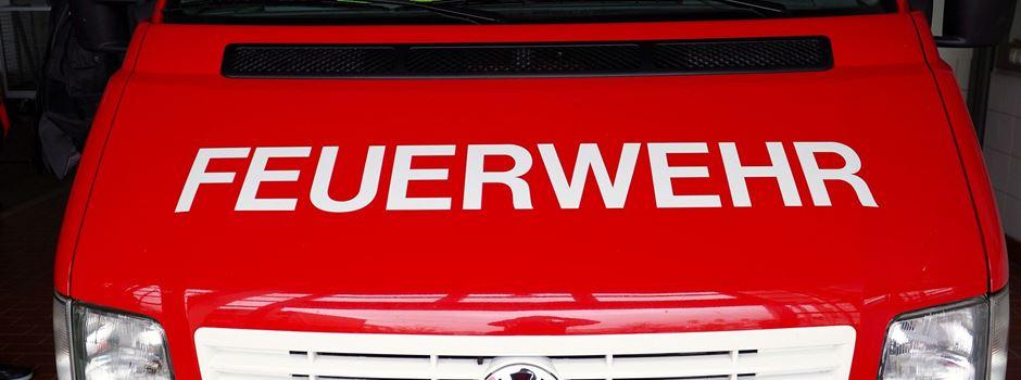 Bungalow brennt - 150.000 Euro Schaden